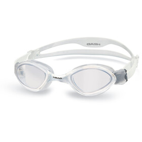 Head Tiger duikbrillen wit/transparant